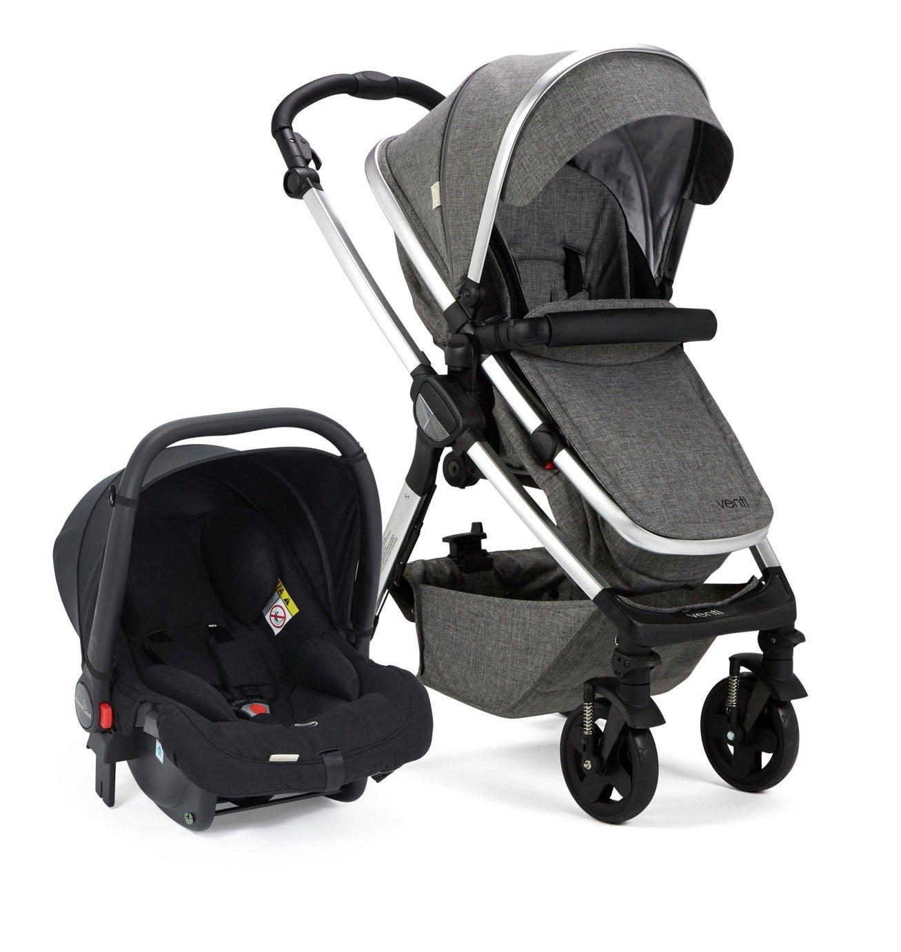 Baby Elegance Venti Travel System - Grey