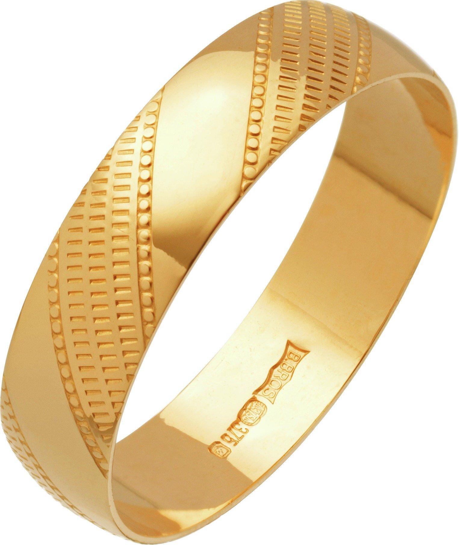 9ct-gold-diamond-cut-wedding-ring