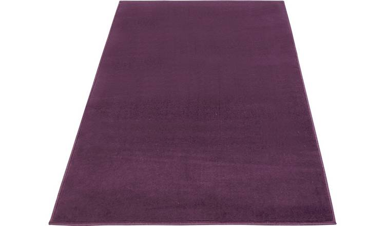 Maestro Plain Rug - 80x150cm - Purple