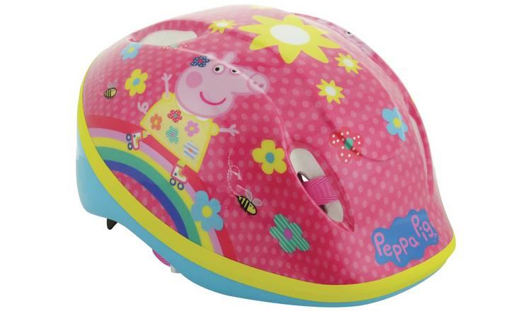 Buy Peppa Pig Bike Helmet Unisex Cycle Helmets Argos