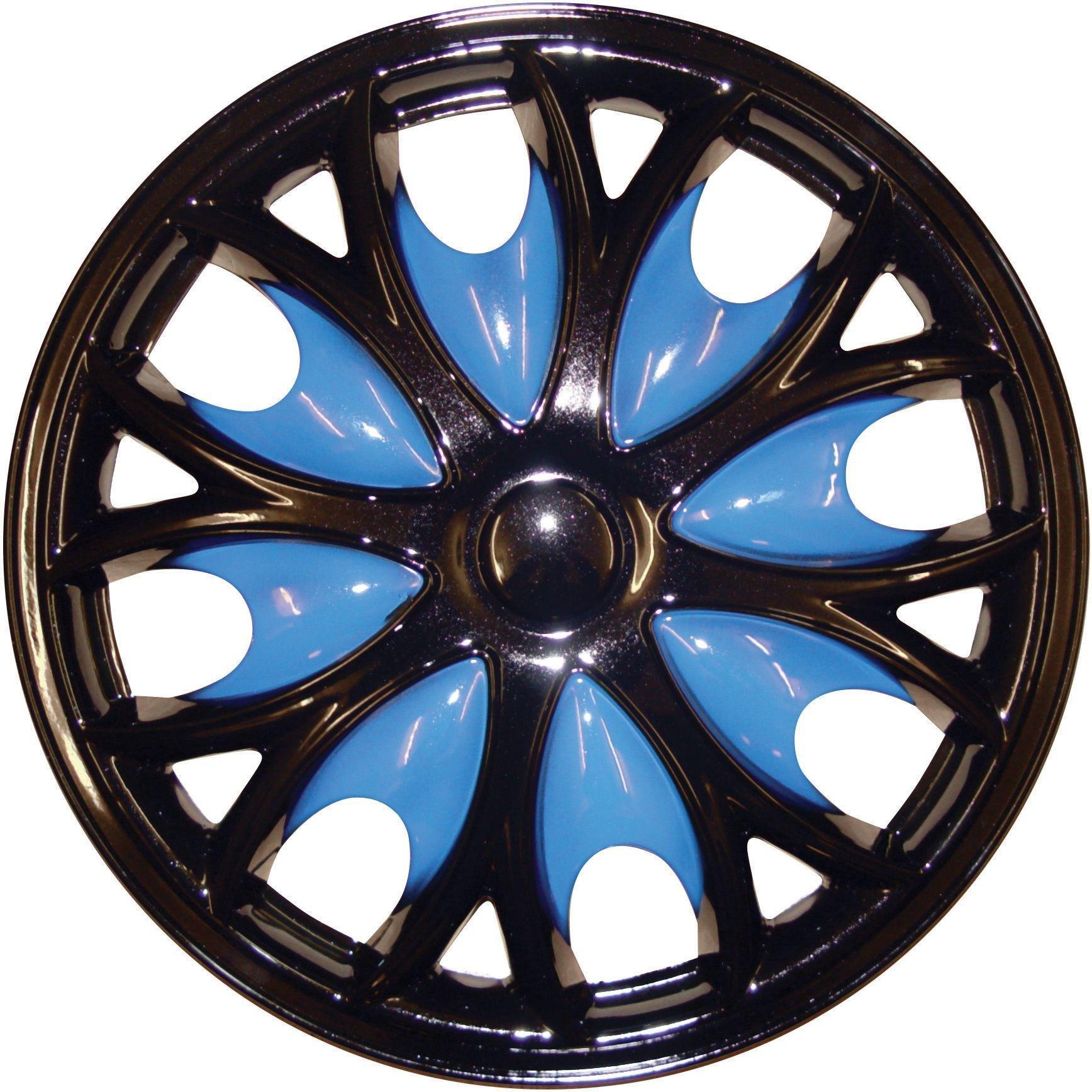 Cosmos Shark 15-inch Wheel Trim Set - Black and Blue