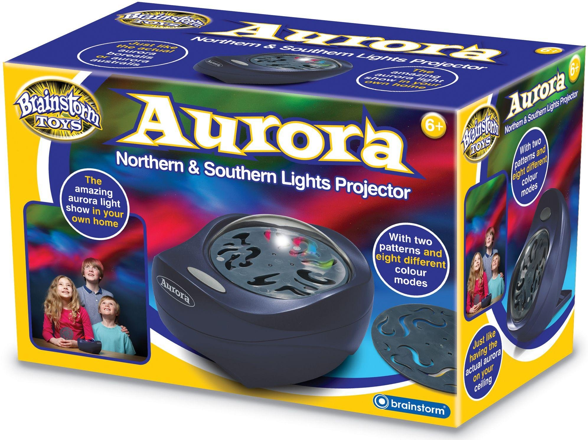 Image of Brainstorm Toys Aurora Northern and Southern Light Projector