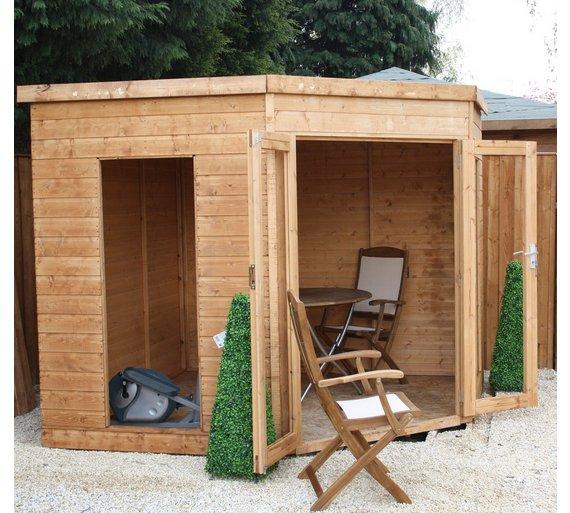 Buy Mercia Corner Summer House X Ft At Argoscouk Your - Corner summer house
