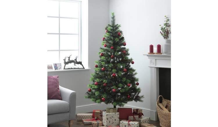 Buy Argos Home 6ft Berry And Cone Christmas Tree Green Christmas Trees Argos