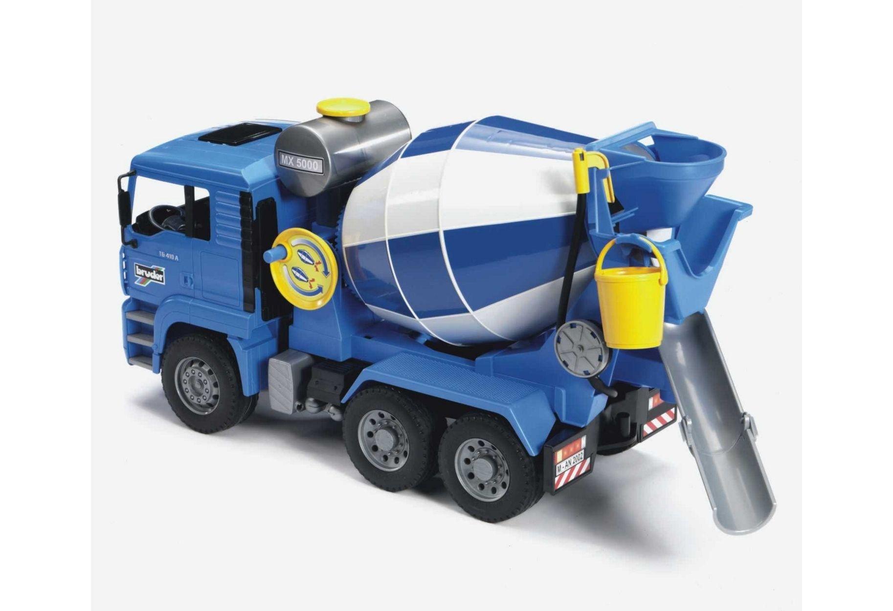 Image of Bruder 02744 MAN TGA Cement Mixer.