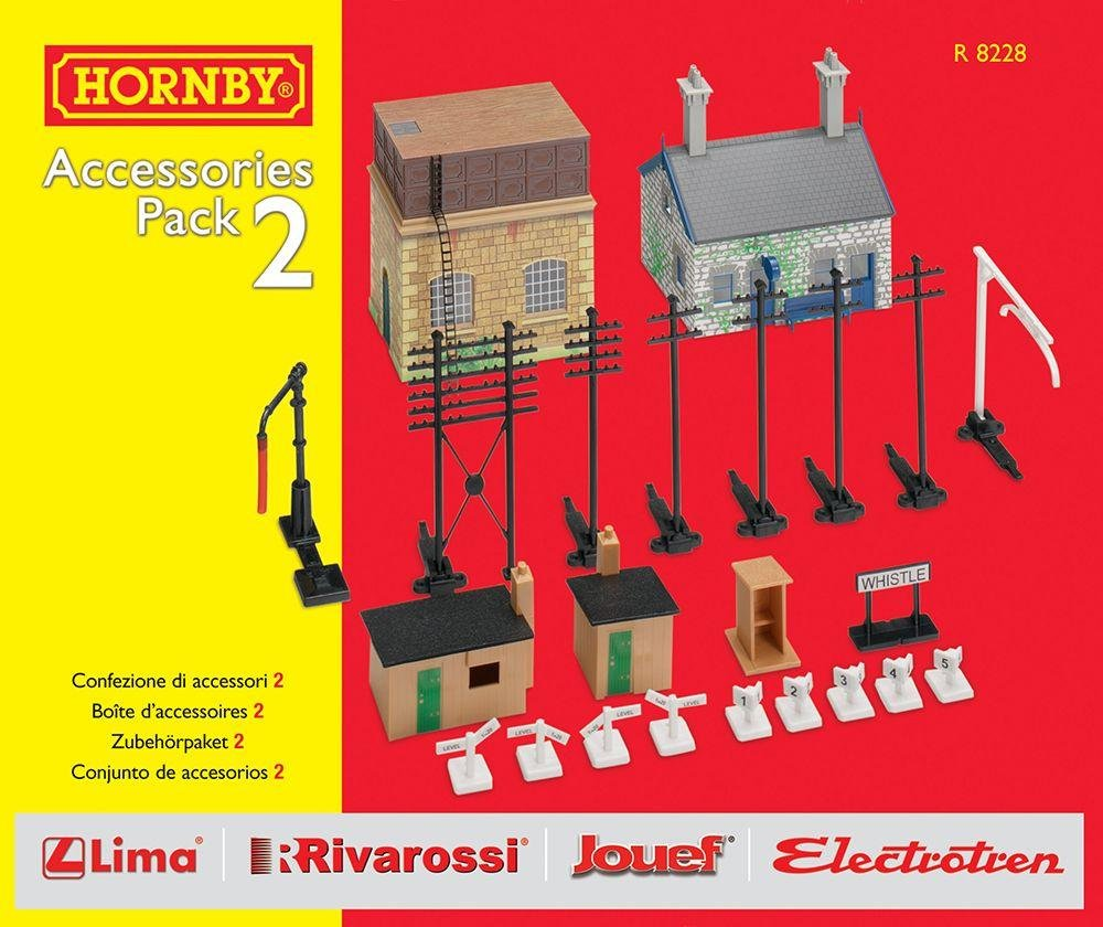Image of Hornby - DCC Building Extension Pk 2 Set.