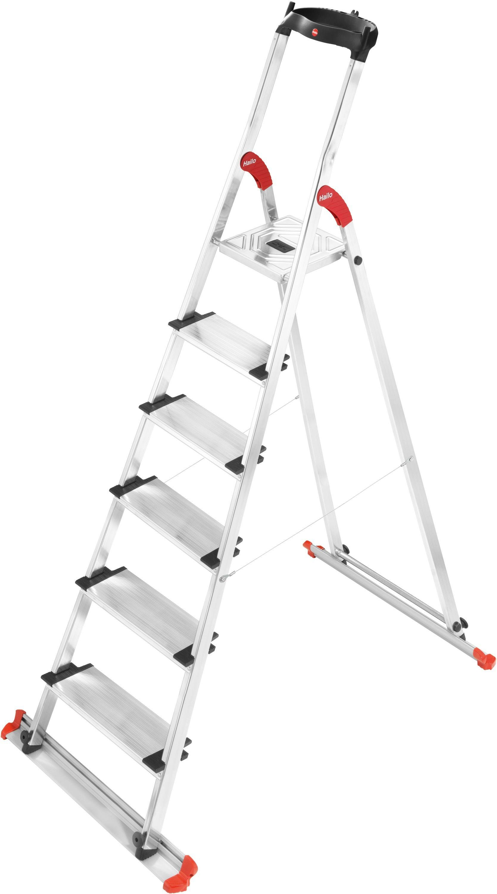 Hailo - Extra Large Garden and Home 6 Tread Stepladder lowest price
