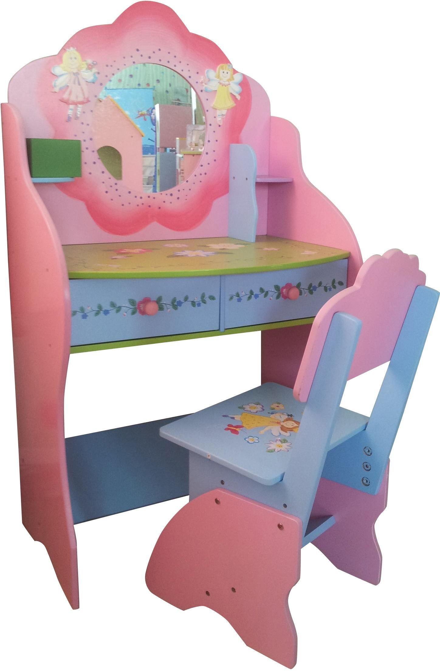 liberty house toys fairy dressing table with chair.