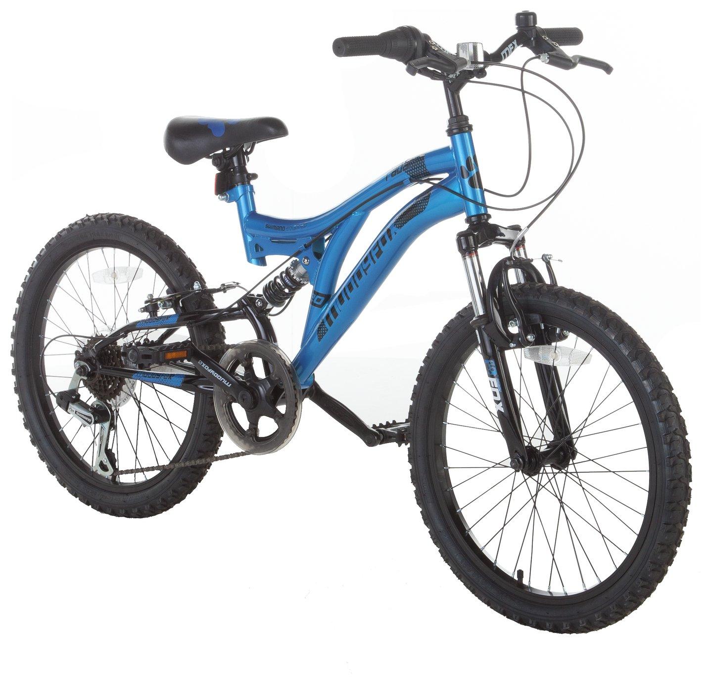 Muddyfox Radar 20 Inch Dual Suspension Bike