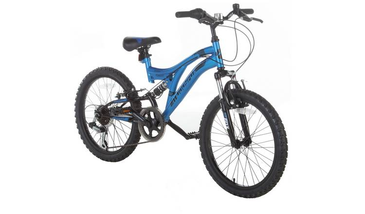 Muddyfox Radar Blue 20 inch Wheel Size Kids Mountain Bike