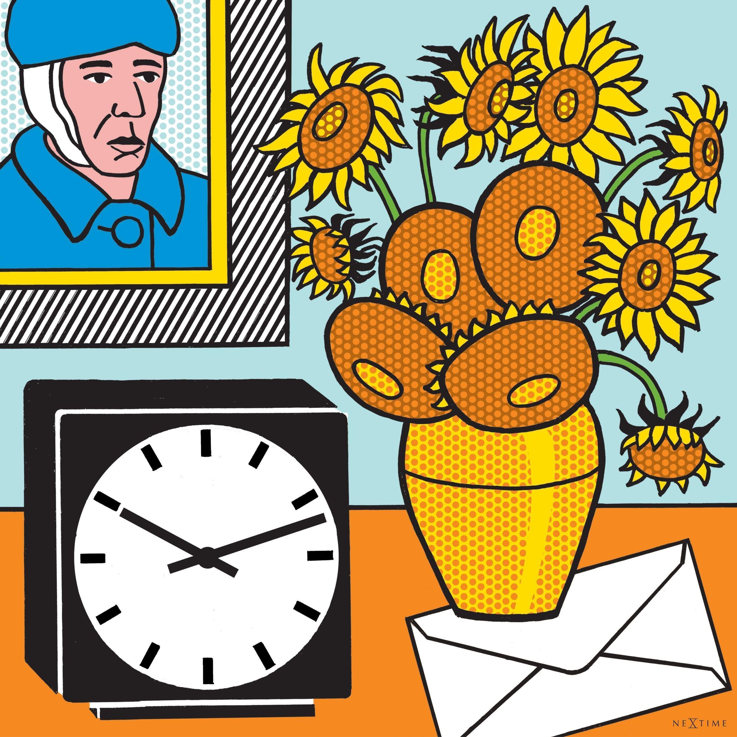 NeXtime Go Van Go Wall Clock.