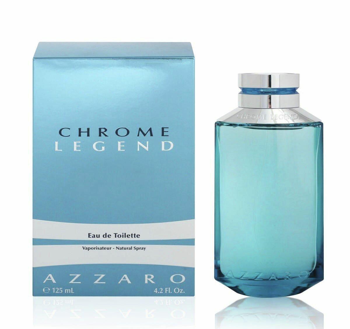 Azzaro Chrome Legend Eau de Toilette for Men - 125ml