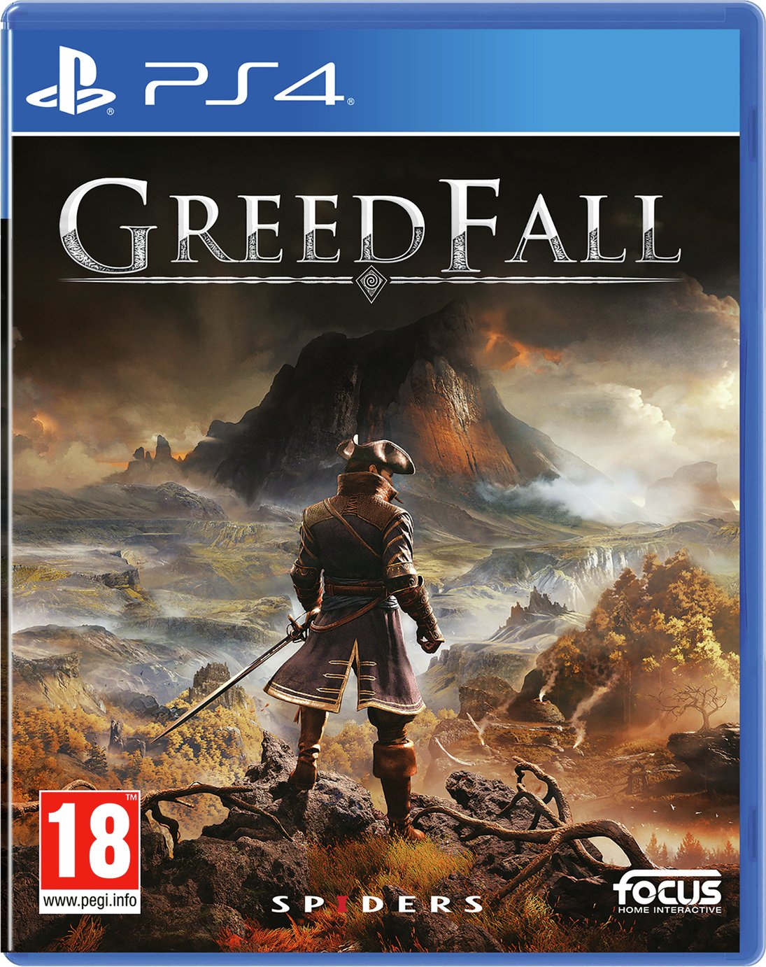 GreedFall PS4 Pre-Order Game