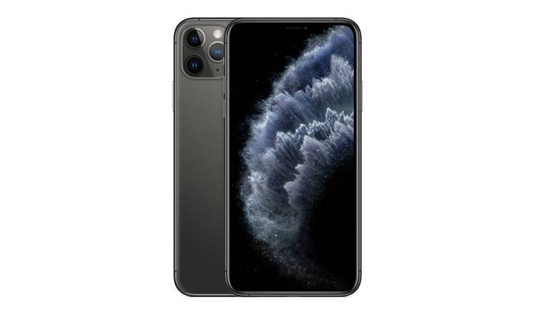 SIM Free iPhone 11 Pro Max 256GB Mobile Phone - Space Grey