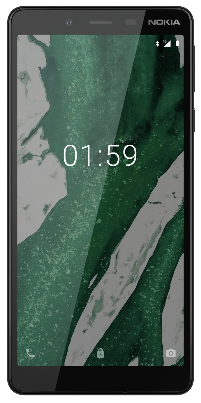 Nokia 1 Plus UK SIM-Free Smartphone - Black Best Price and Cheapest