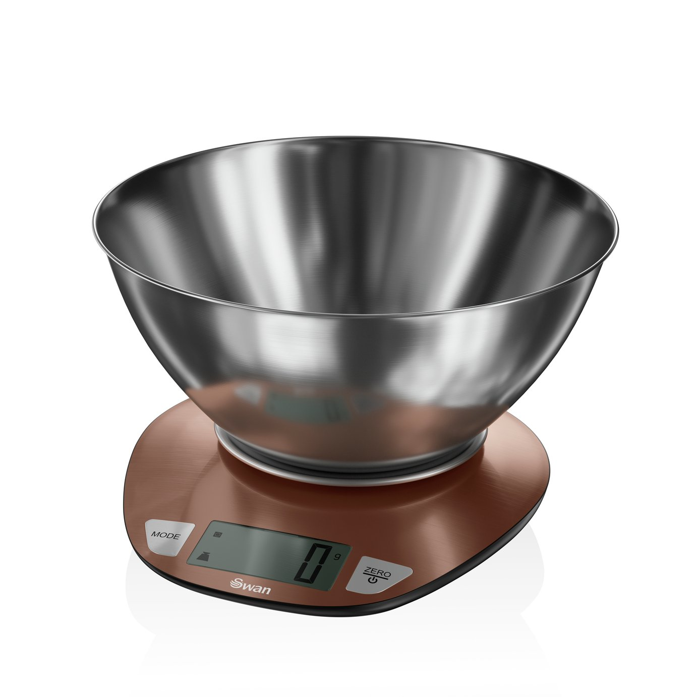 Swan Townhouse Digital Kitchen Scale with Bowl