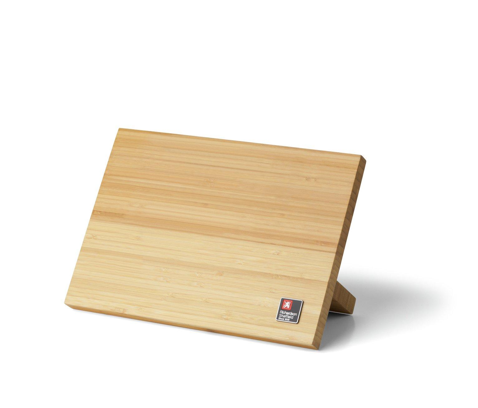 Richardson Sheffield Bamboo Magnetic Knife Block