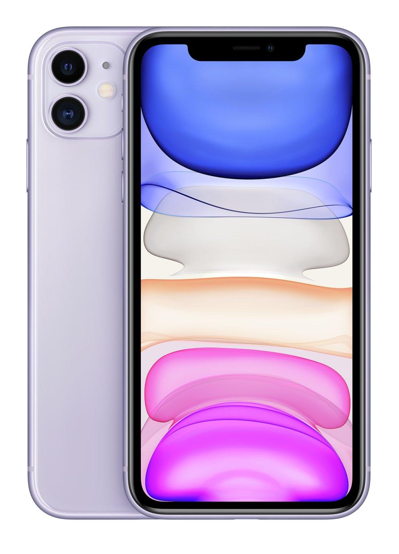 SIM Free iPhone 11 128GB Mobile Phone  - Purple