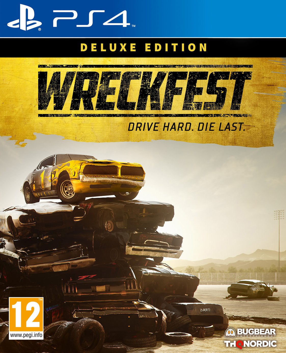 Wreckfest: Deluxe Edition PS4 Pre-Order Game