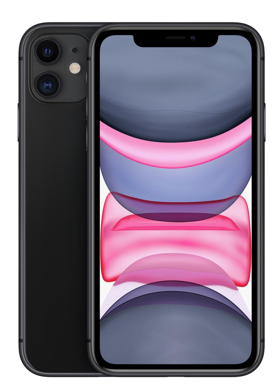 SIM Free iPhone 11 128GB Mobile Phone  - Black