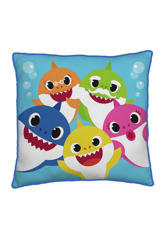 Baby Shark Family Square Cushion