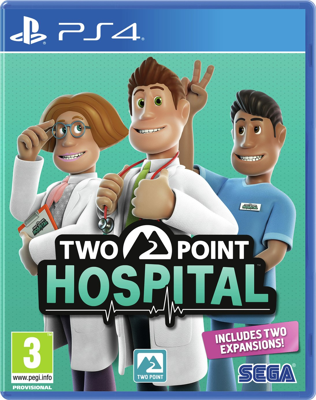 Two Point Hospital PS4 Pre-Order Game