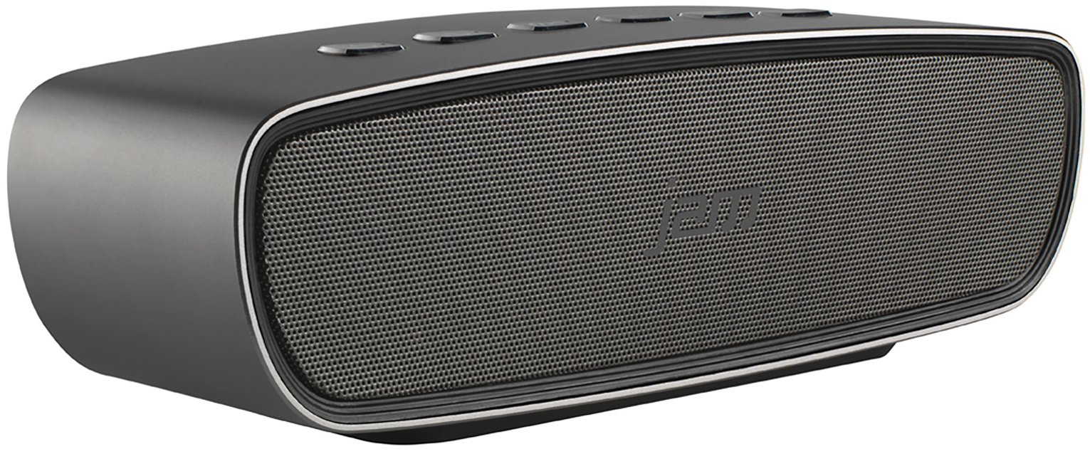 JAM Heavy Metal Wireless Bluetooth Speaker - Silver