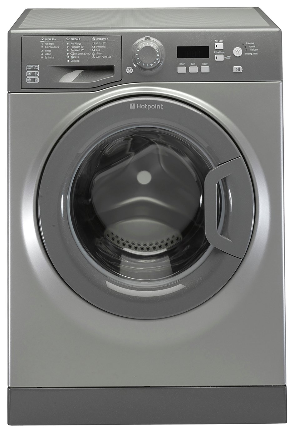 Hotpoint WMBF844G 8KG 1400 Spin Washing Machine - Graphite