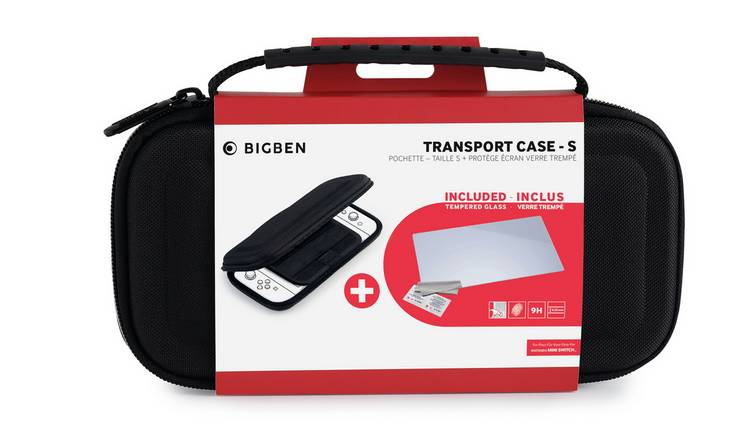 Nintendo Switch Lite Travel Case & Screen Protector Bundle