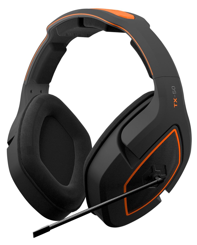 Gioteck TX50 Xbox One, PS4, PC, Switch Headset - Orange