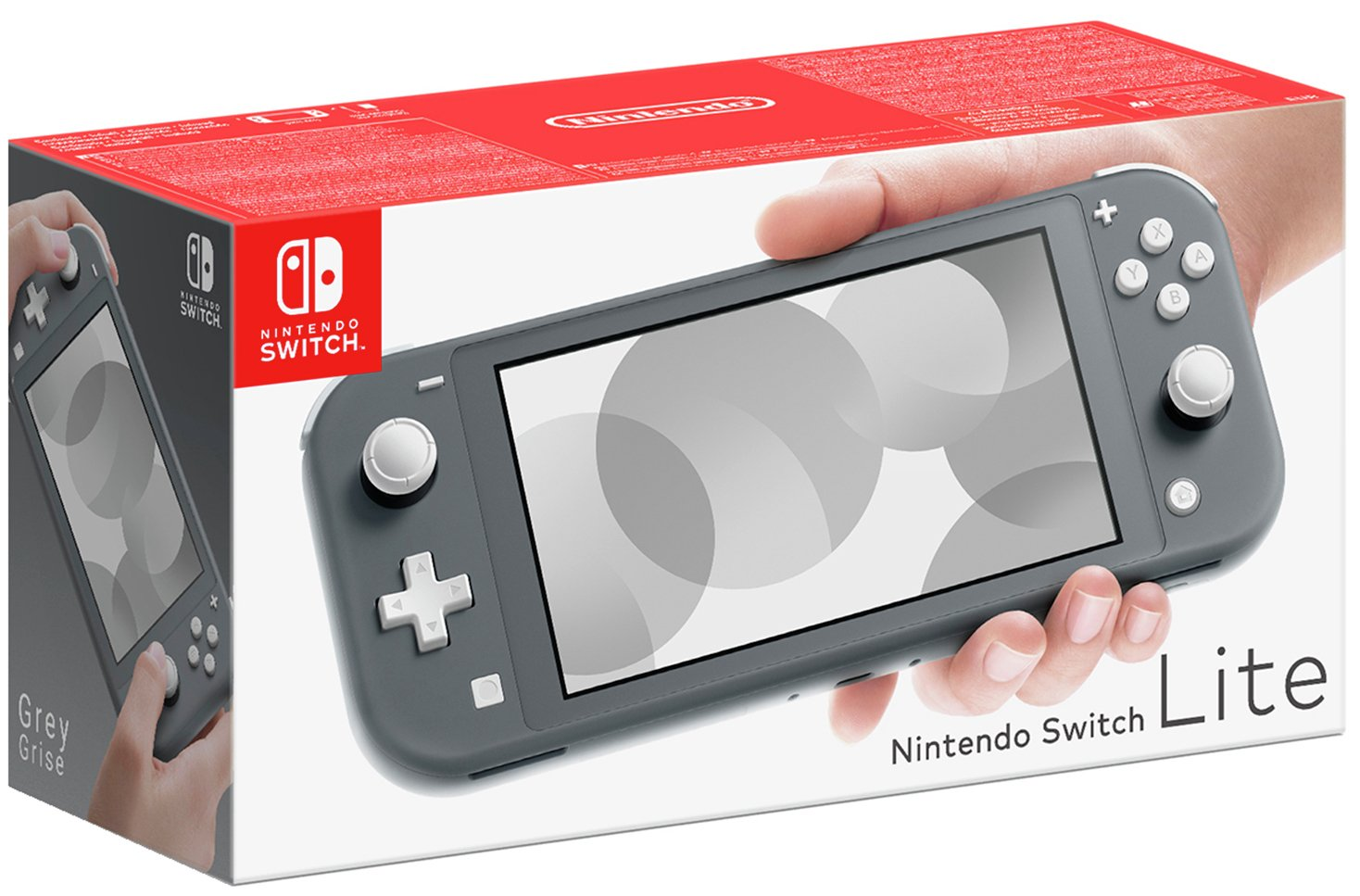 Nintendo Switch Lite Handheld Console - Grey