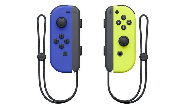 Nintendo Switch Joy-Con Controller Pair - Blue & Neon Yellow
