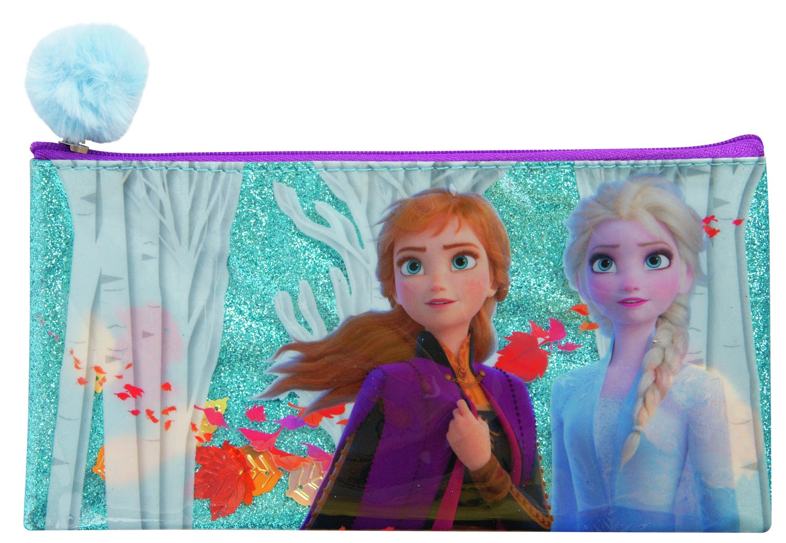 Frozen 2 Falling Glitter Pencil Case
