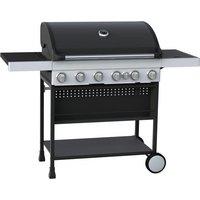 Argos Home Premium 6 Burner Gas BBQ