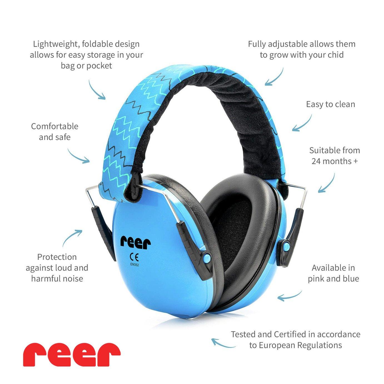 Reer Silentgard Kids Capsule Ear Protector - Blue