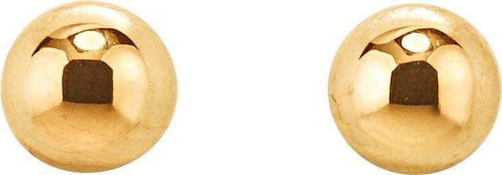 buy revere 9ct gold ball stud earrings 3mm at argosco