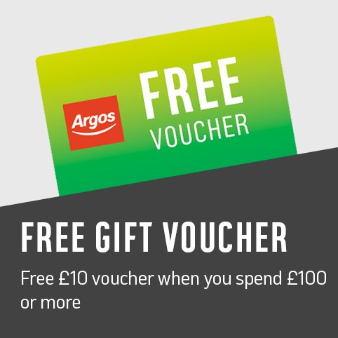 Get a free £10 voucher when you spend over £100. Get a free £5 voucher when you spend over £50.