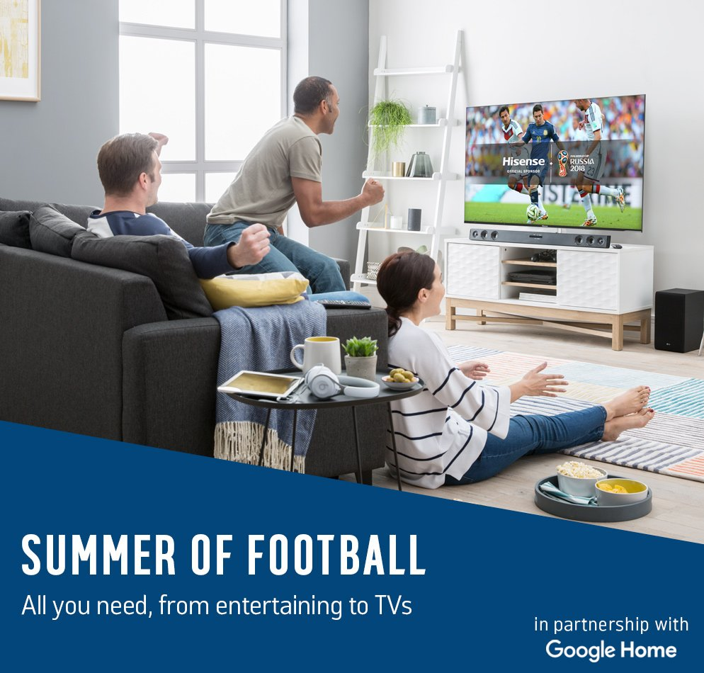 Summer of Football. All you need, from entertaining to TVs.