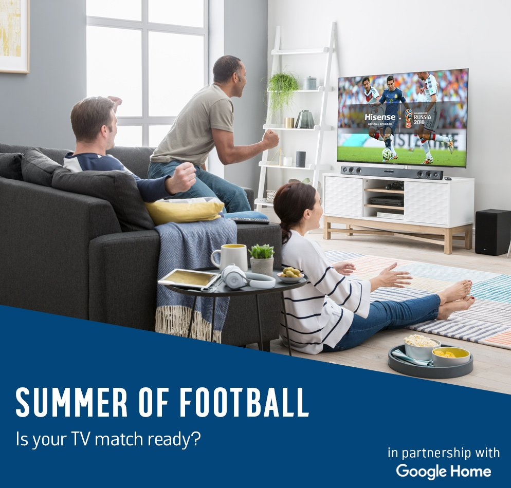 Summer of football. Is your TV match ready?