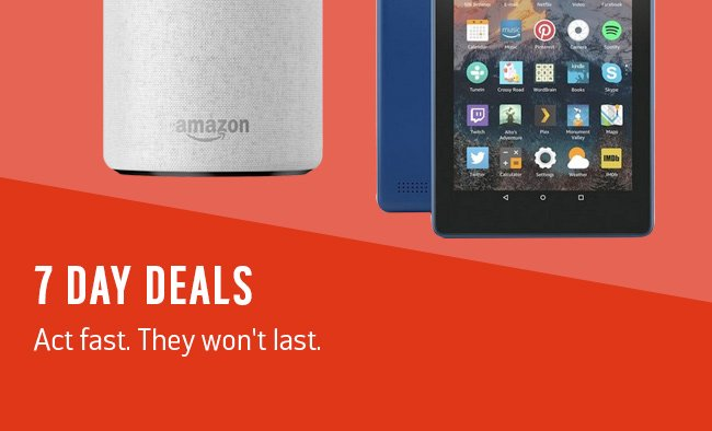 Big Red 7 day deals.