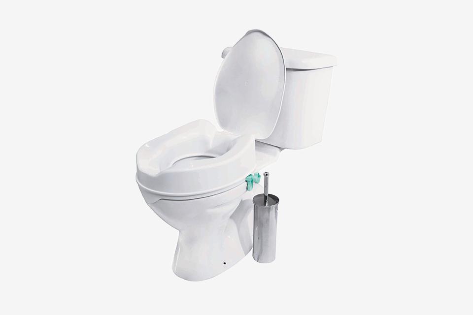 Awe Inspiring Buy Raised Toilet Seat With Lid Raised Toilet Seats Argos Theyellowbook Wood Chair Design Ideas Theyellowbookinfo
