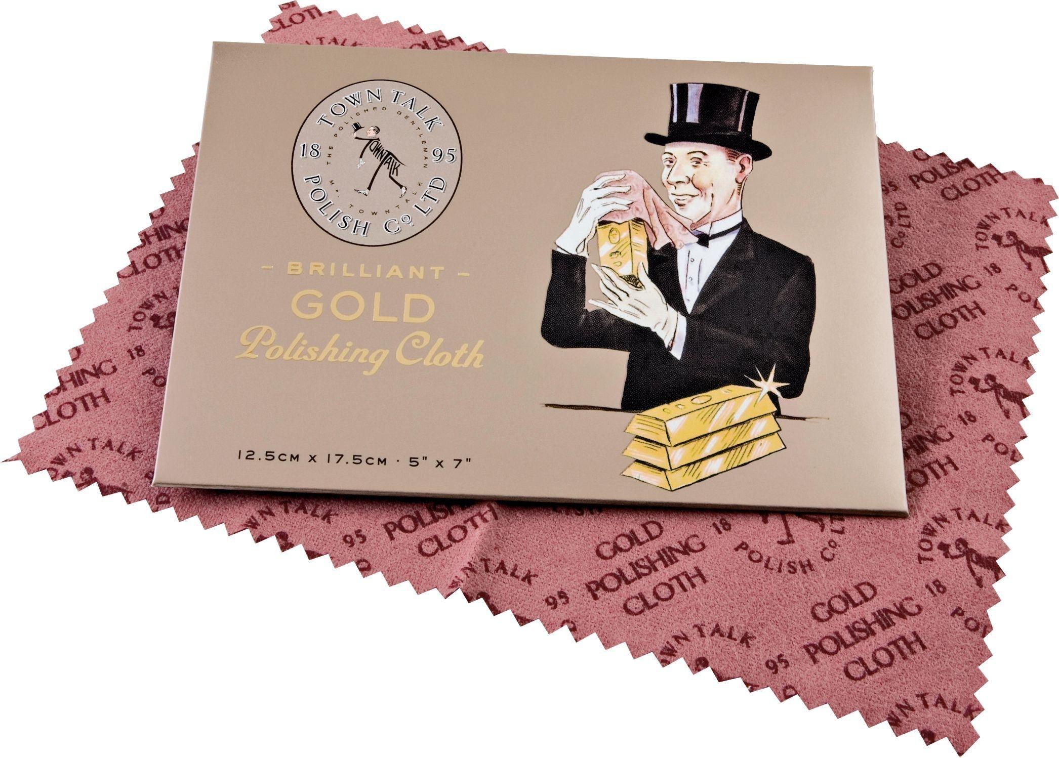 Image of Jewellery Polishing Cloth - Gold