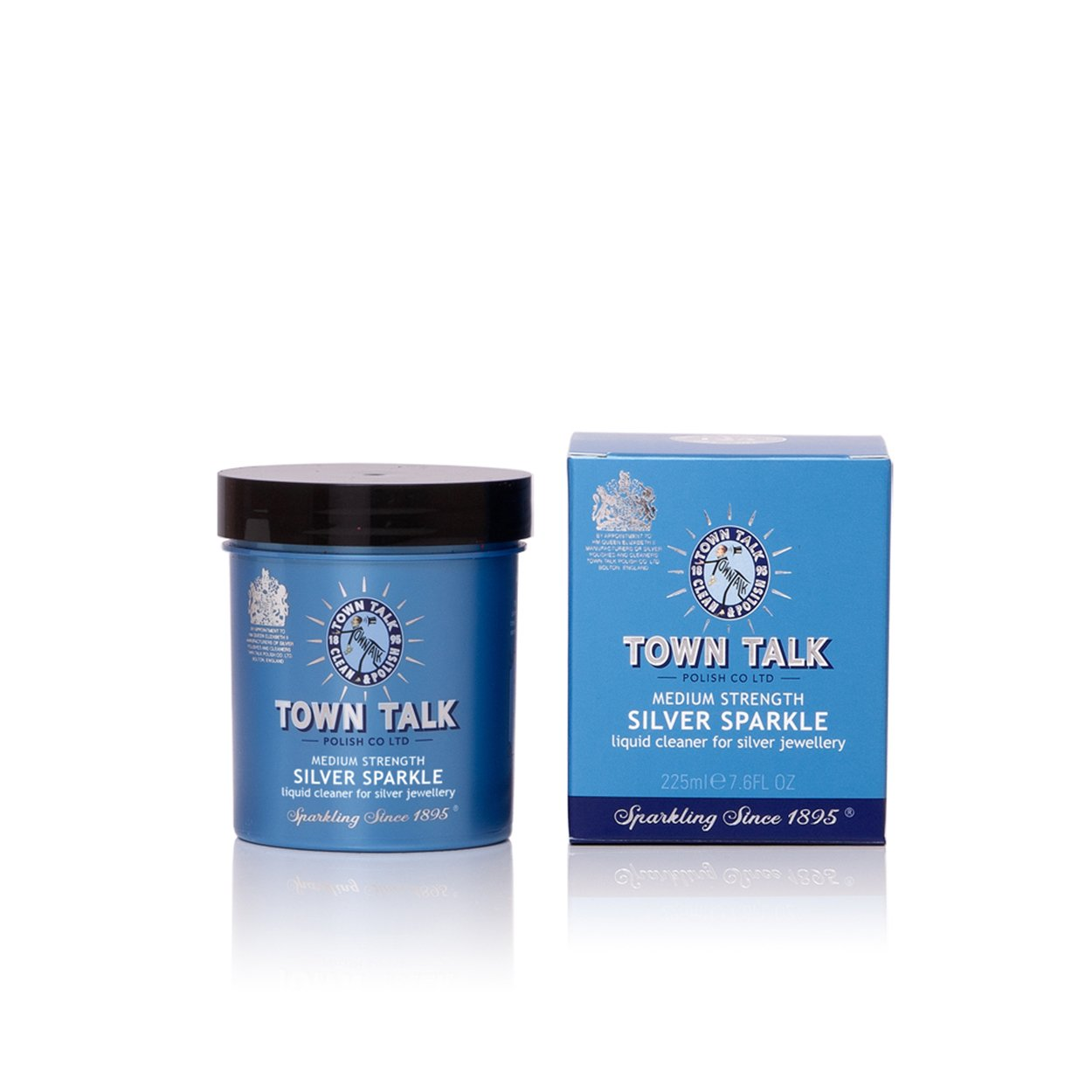 Town Talk Jewellery Cleaning Solution - Silver Sparkle