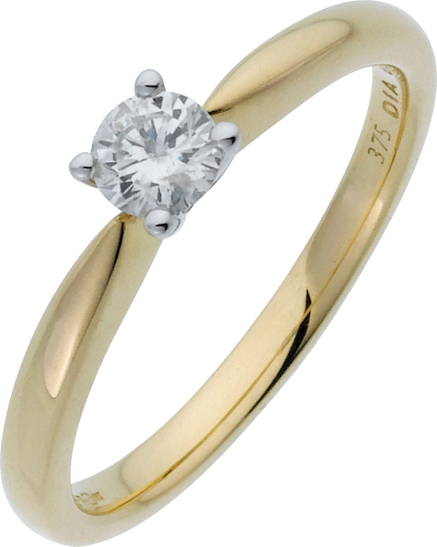 18 Carat Rose Gold: 025 Carat Diamond