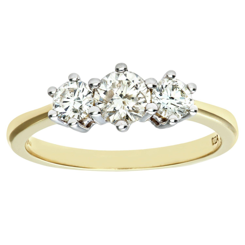 Made For You - 18 Carat Gold - 075 Carat Diamond - Ring - Size K