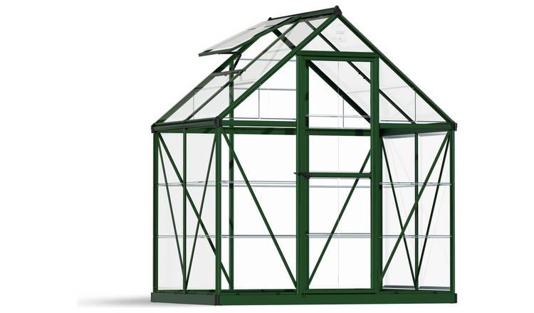 Buy Palram Harmony Green Greenhouse - 6 x 4ft | Greenhouses | Argos