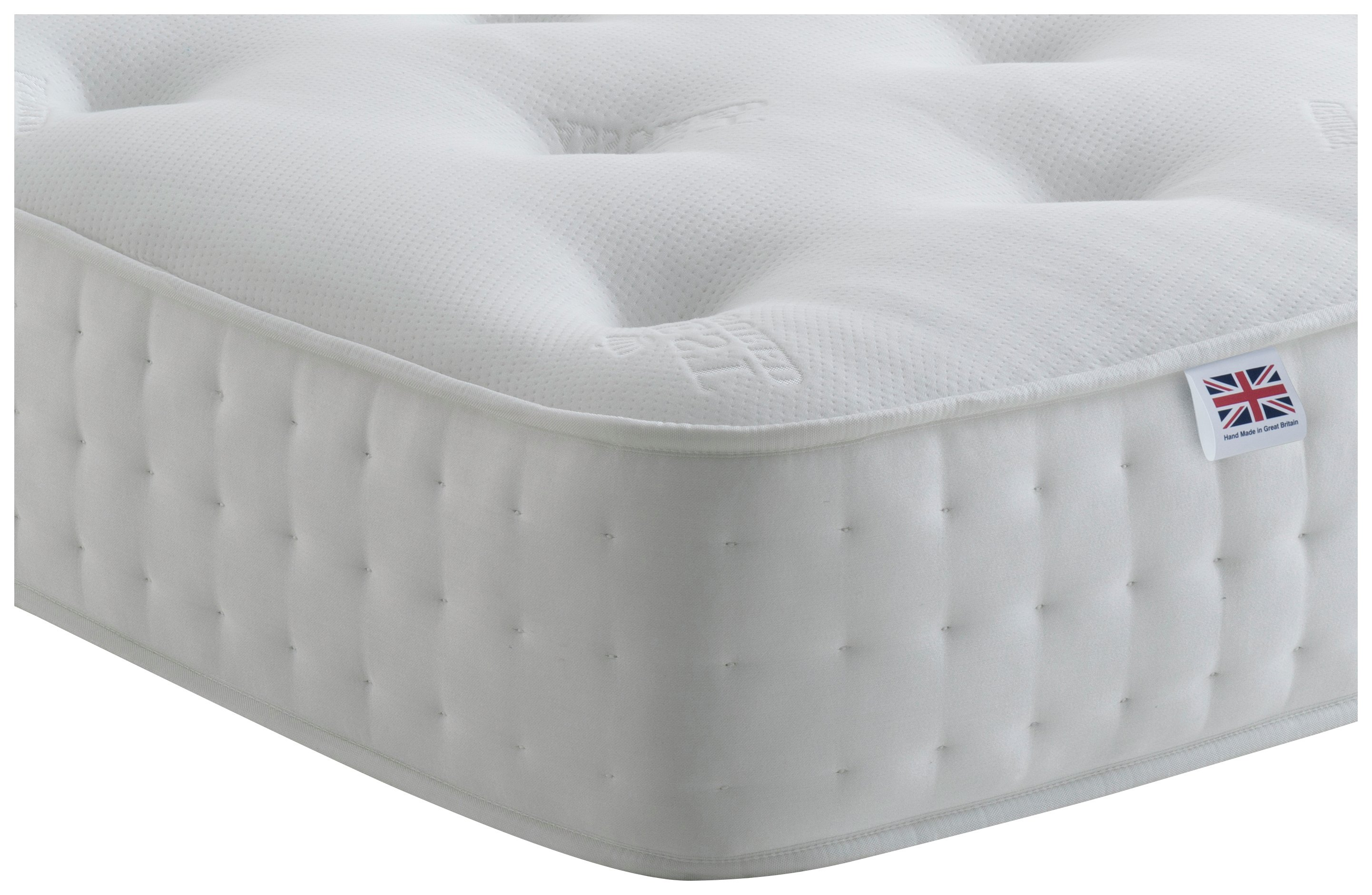 Rest Assured Irvine 1400 Pocket King Memory Foam Mattress