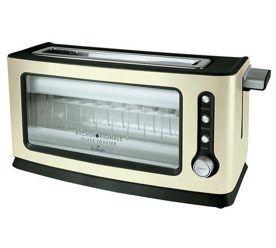Glass Toaster 4 Slice ~ Buy kitchenoriginals by kalorik slice glass toaster at