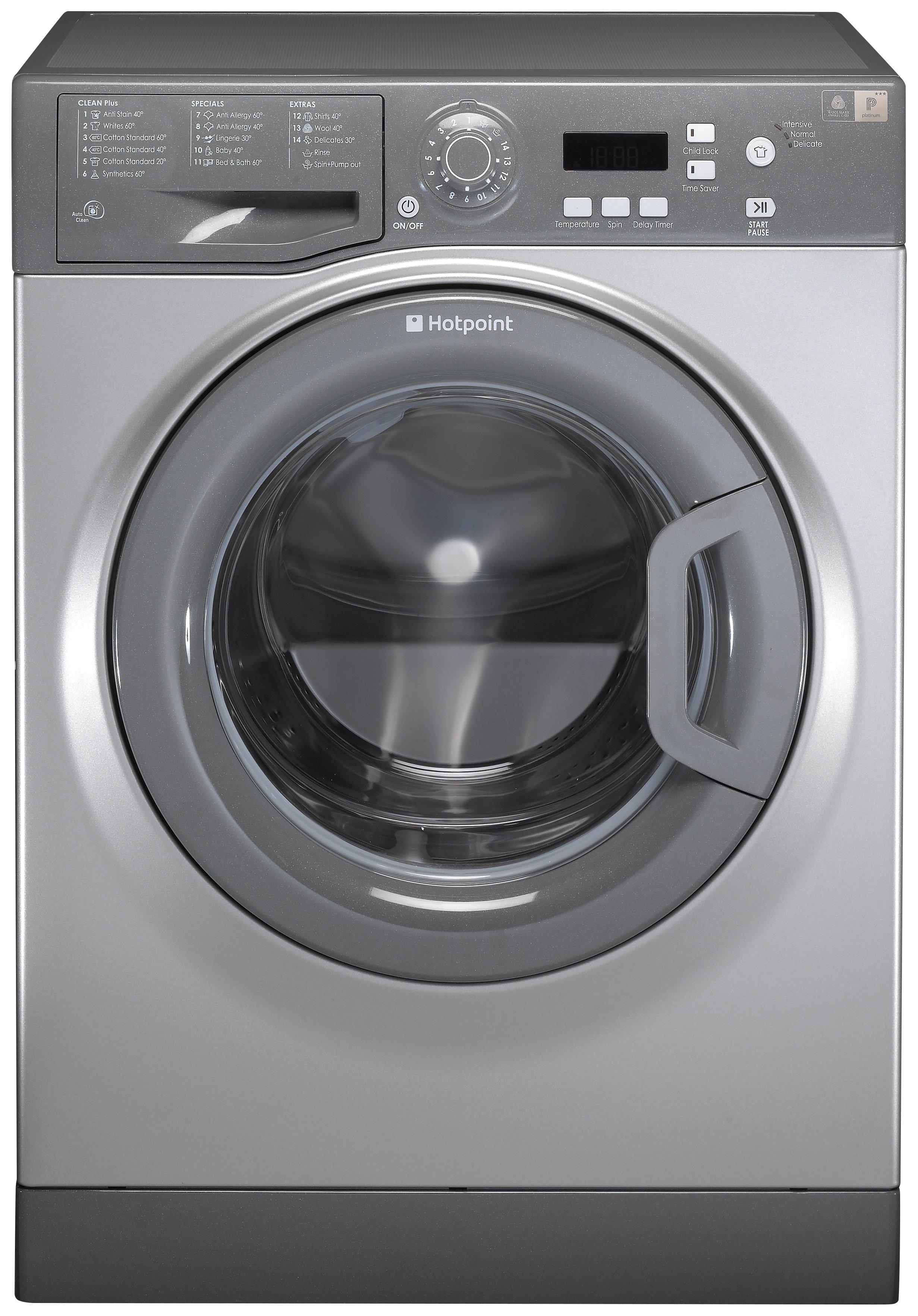 Image of Hotpoint WMAQF 641G 6KG 1400 Spin Washing Machine - Graphite