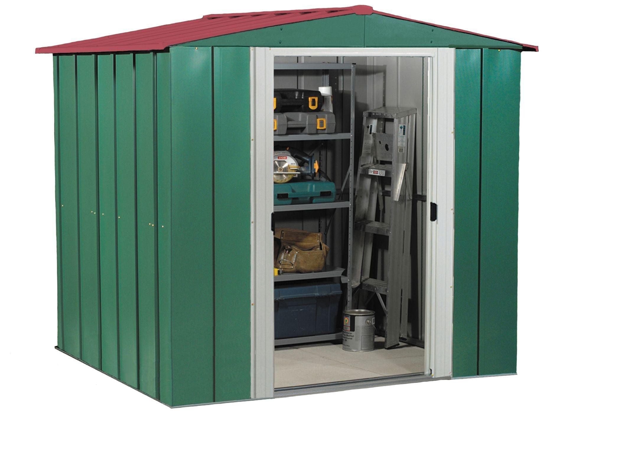 Garden Sheds Renfrewshire buy arrow metal garden shed - 6 x 5ft at argos.co.uk - your online